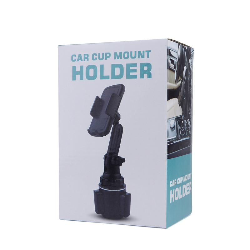 50PCS Car Cup Mobile Phone Holder GPS Mount Portable Smartphone Support for Iphone Samsung Xiaomi Huawei Max Width Size 92mm