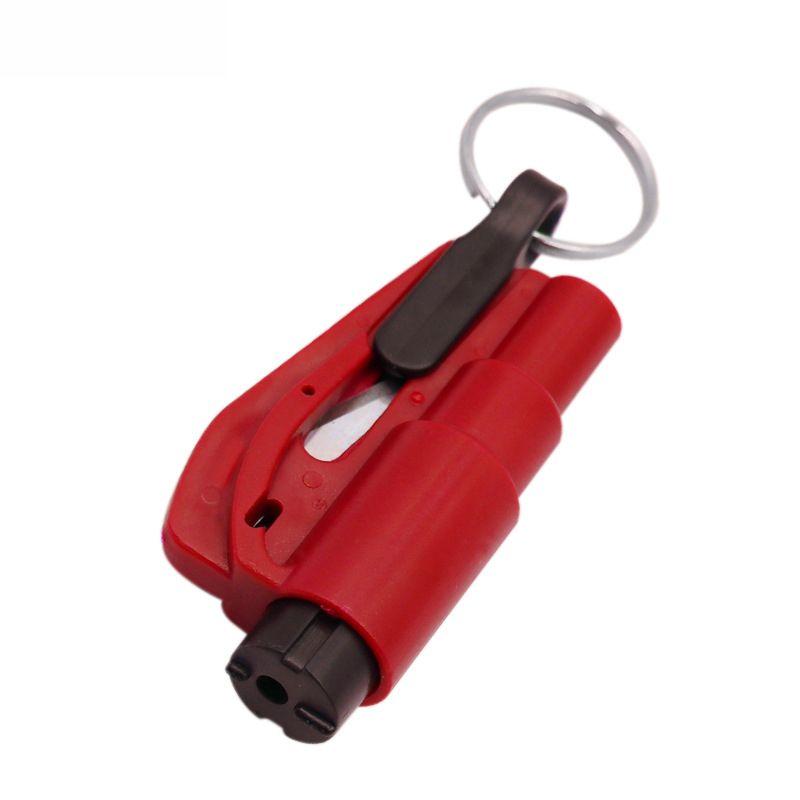 مصغرة سلامة السيارة المطرقة المحمولة الهروب أدوات المطارق نافذة الكسارة مركبة الخيالة متعددة الوظائف مصغرة السلامة مطرقة OOB4004