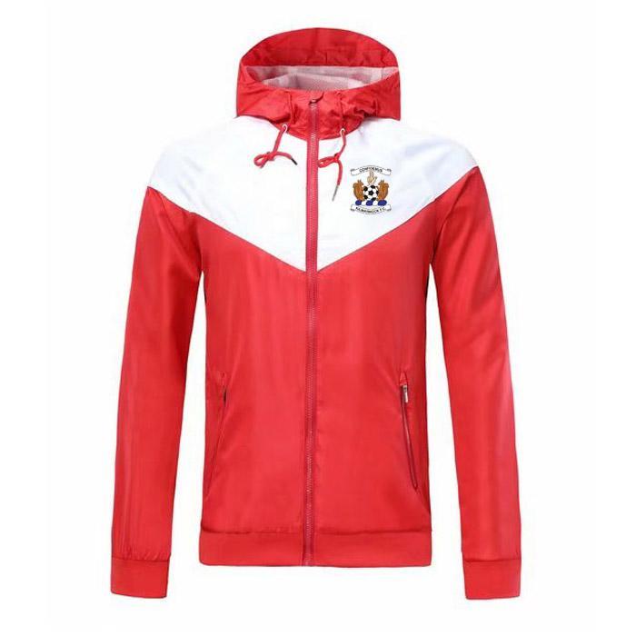 Kilmarnock Windbreaker Zipper Куртка с капюшоном Футбольная ветровка Футбольная куртка Спортивная одежда полная молния