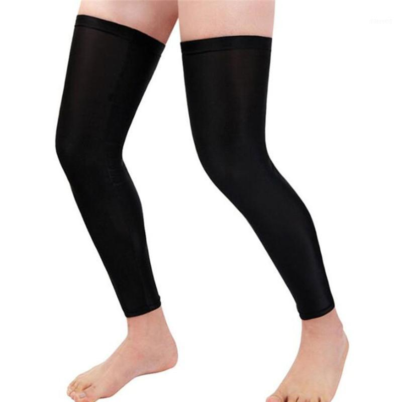 ذراع الساق تدفئة ركوب الدراجات ضغط الركبة وسادة حامي الأكمام الرياضة في الهواء الطلق السلامة soccer تشغيل طماق الجوارب 1