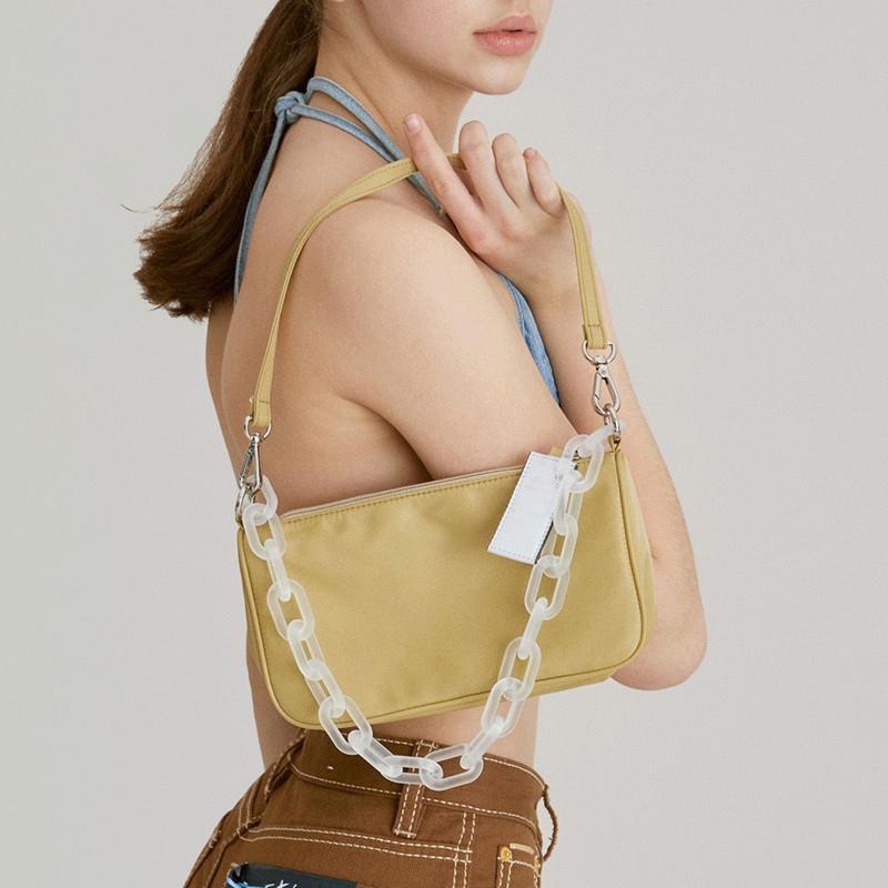 HBP handbag coin purse fashion designer one shoulder diagonal chain underarm bag high quality leather bag for lady