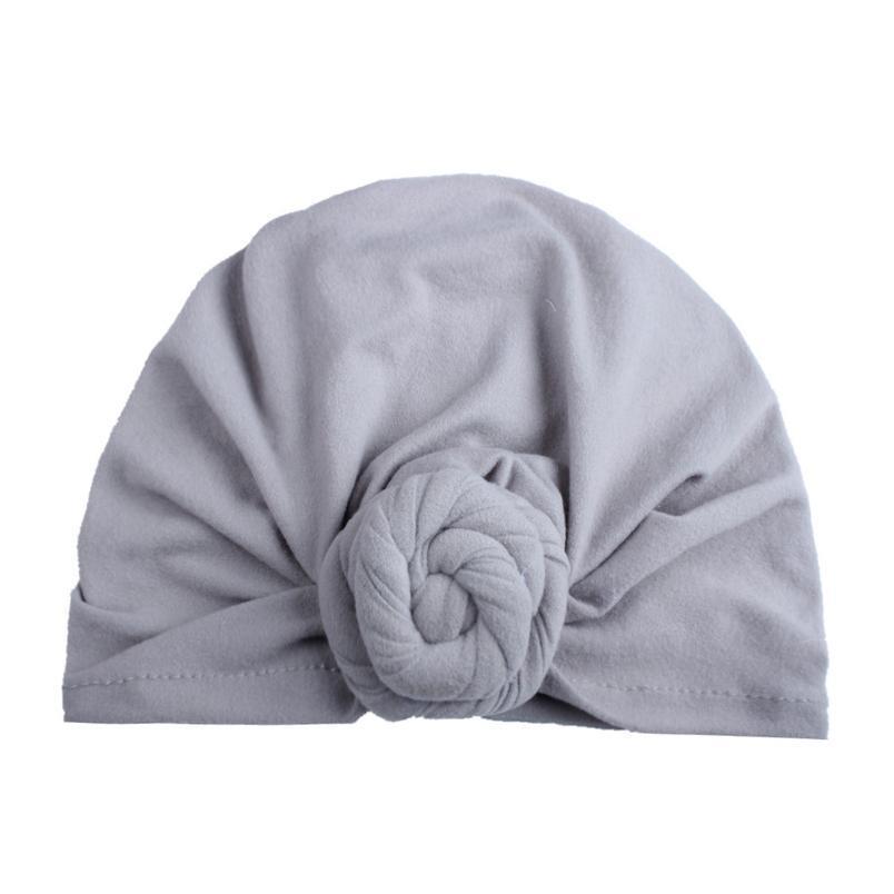 Fashion Turban Flower Baby Full Turban Hat Vintage Style Top Knot Turban Headwrap Baby Headband Tod qylFBN
