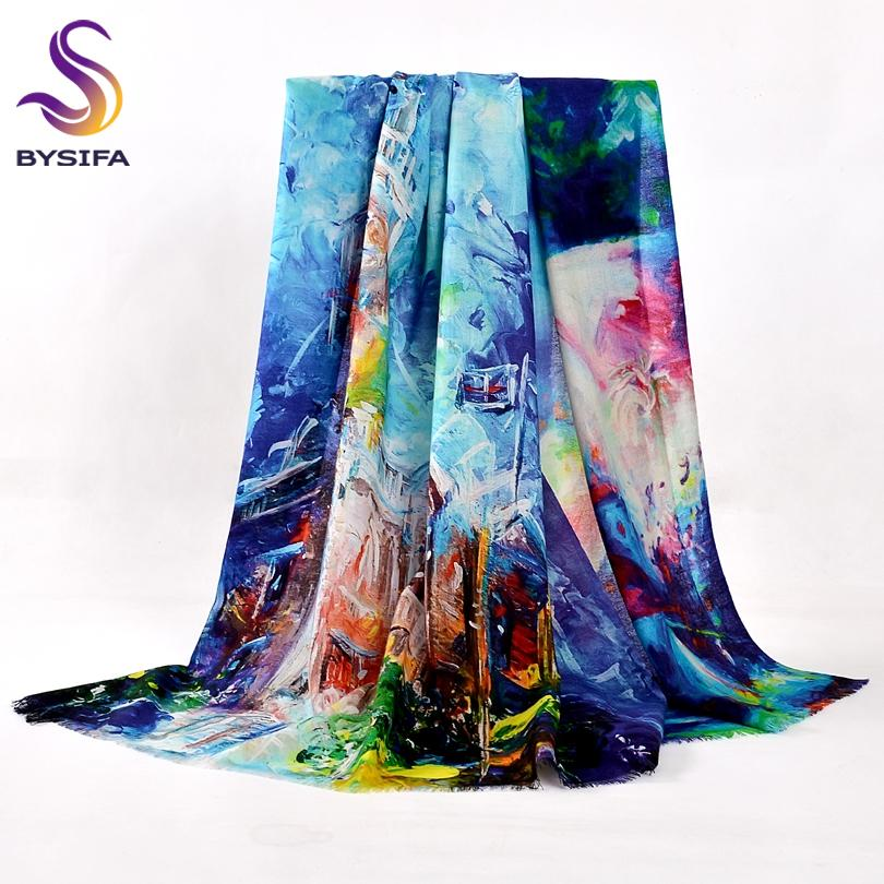 Чистые шерстяные шарфы новые дизайн плюс размер шерсти шарф обертывания мода элегантный бренд пашмина женщины все-матч теплый зимний шарф шаль 201103