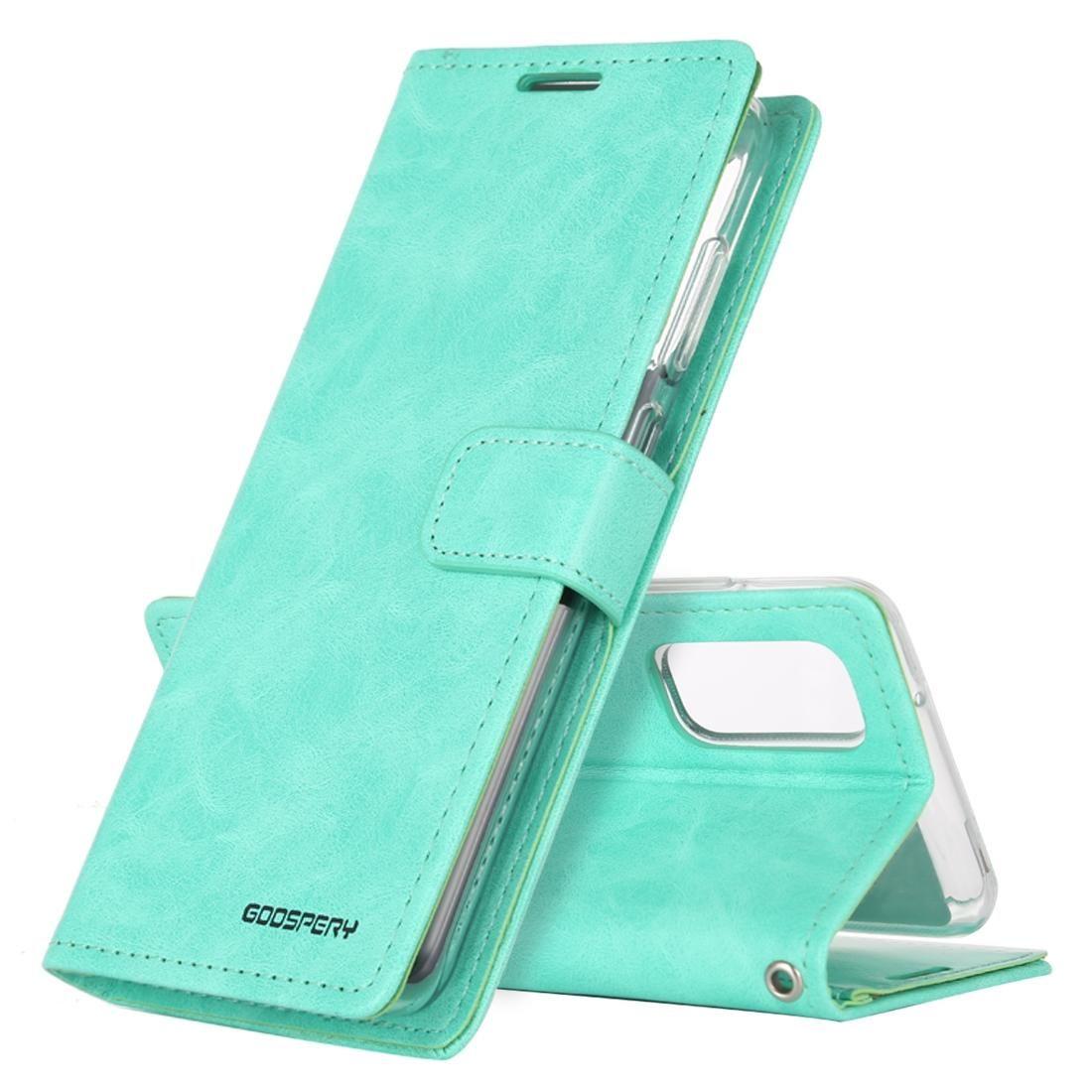 Für Galaxy S20 Plus-GOOSPERY BLUE MOON DIARY Crazy Horse Textur Horizontal Flip Ledertasche mit Halter-Karten-Slot Wallet