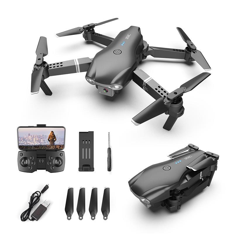 S602 4K كاميرا ثنائية كاميرا واي فاي ميني مبتدئ لعبة بدون طيار، رحلة تتبع، 360 درجة فليب الارتفاع، 3-التروس السرعة، تأخذ الهاتف بواسطة لفتة، هدية كيد، 3-3