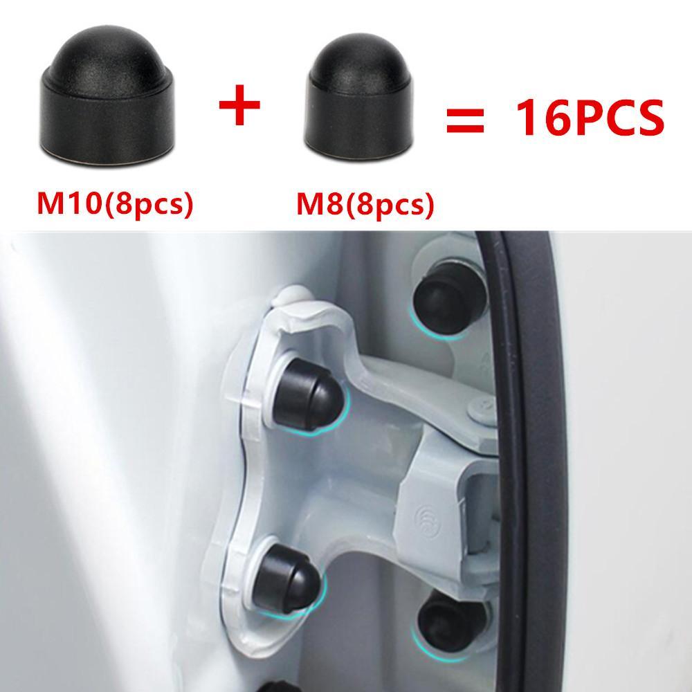 16 قطع اكسسوارات السيارات الداخلية العالمي السيارات المسمار غطاء غطاء فولكس واجن جولف 6 MK6 بولو MK5 بورا سيارة التصميم