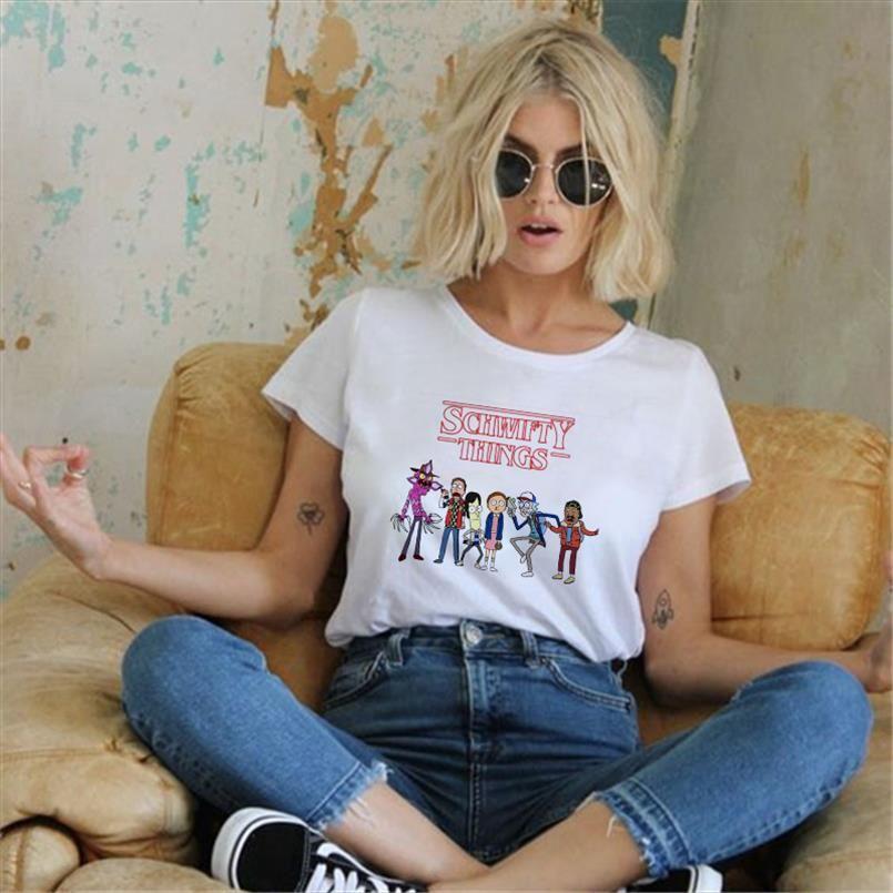 Stranger Things T-shirt Eleven Femmes Casual Top T-shirts T-shirt Femme Femme Vêtements Harajuku drôle top Film