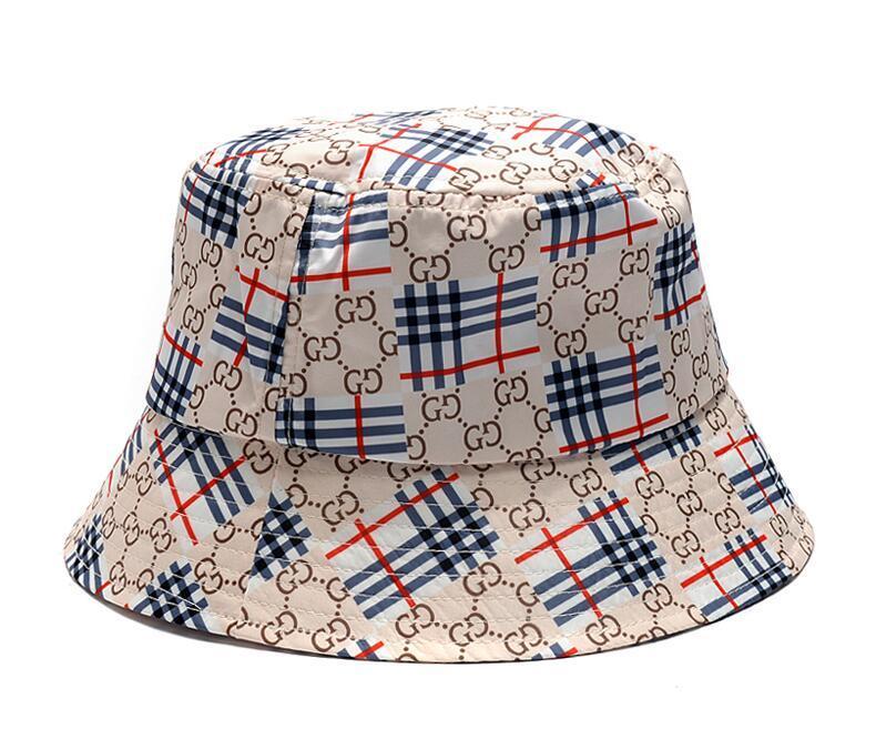 2020 nueva unisex adulto Pescador sombrero del cubo del sombrero del desgaste cara de impresión de protección solar al aire libre del casquillo de Hip Hop Pesca