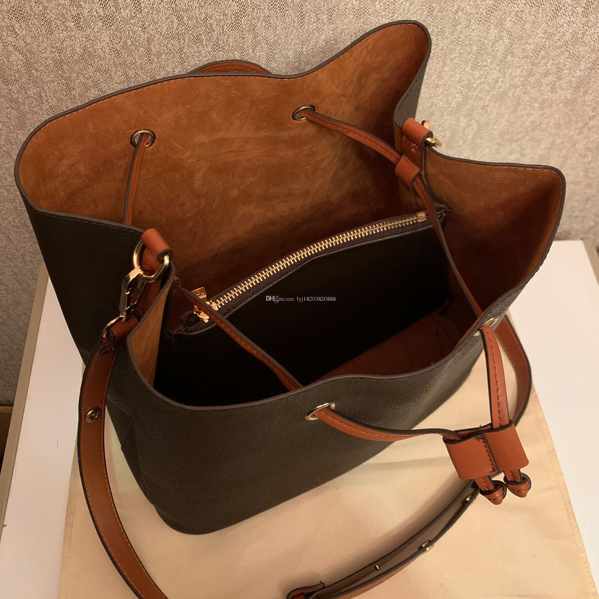 Les designers ont vendu des sacs à main de luxe de luxe sacs à sacs à sacs à main authentiques Brochebody Fourre-tout Femmes néonoe sac de marque sacs bandoulière fleur ODAMJ