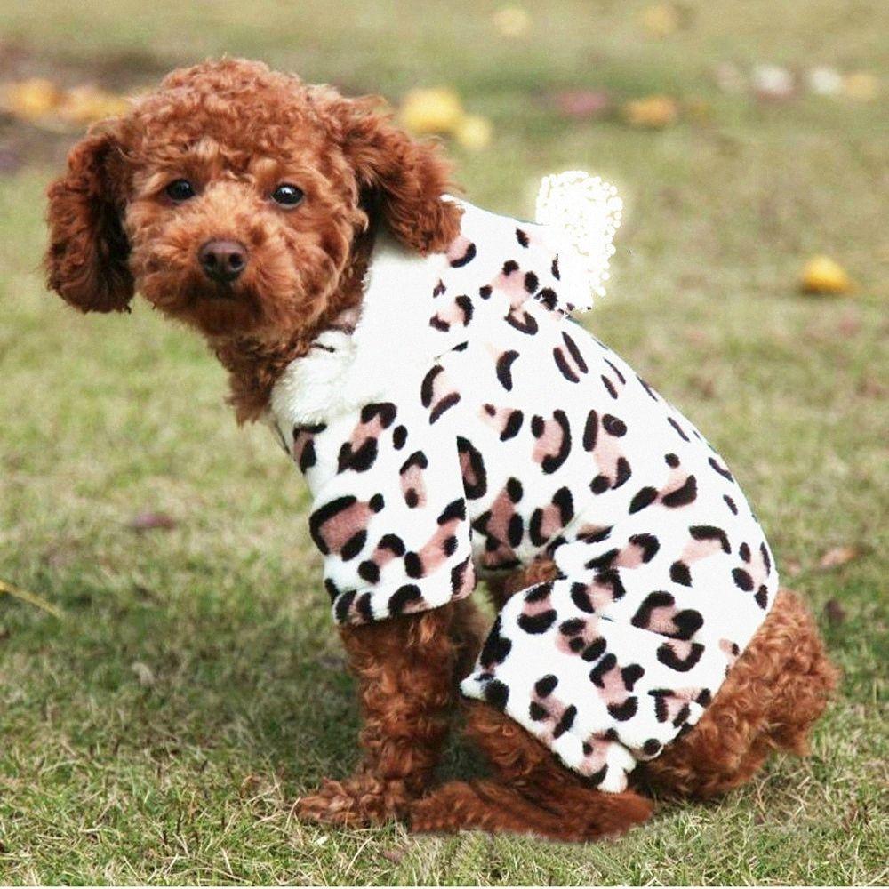 Unisex Pet abbigliamento invernale cane del cucciolo del gatto della maglia maglietta Coat Vestito di maglia cane abbigliamento vestiti caldi di inverno del cappotto # R25 Ubm3 #