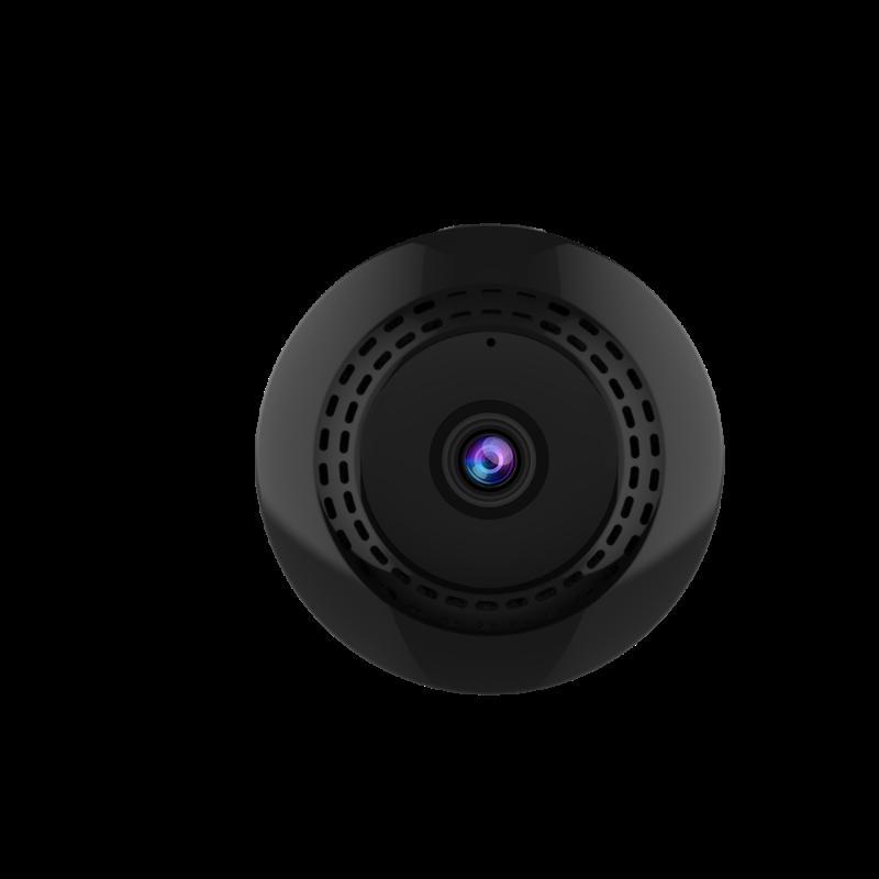Mini ağ kamerası Akıllı WIFI ağ kamerası Bebek İnternet Hemşirelik Uzaktan C2 + rengi siyah