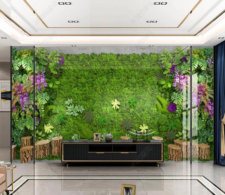 Пользовательские 3D обои стены росписи цветы цветы и растения для гостиной Обои для спальни стены 3D стереоскоп фон стены