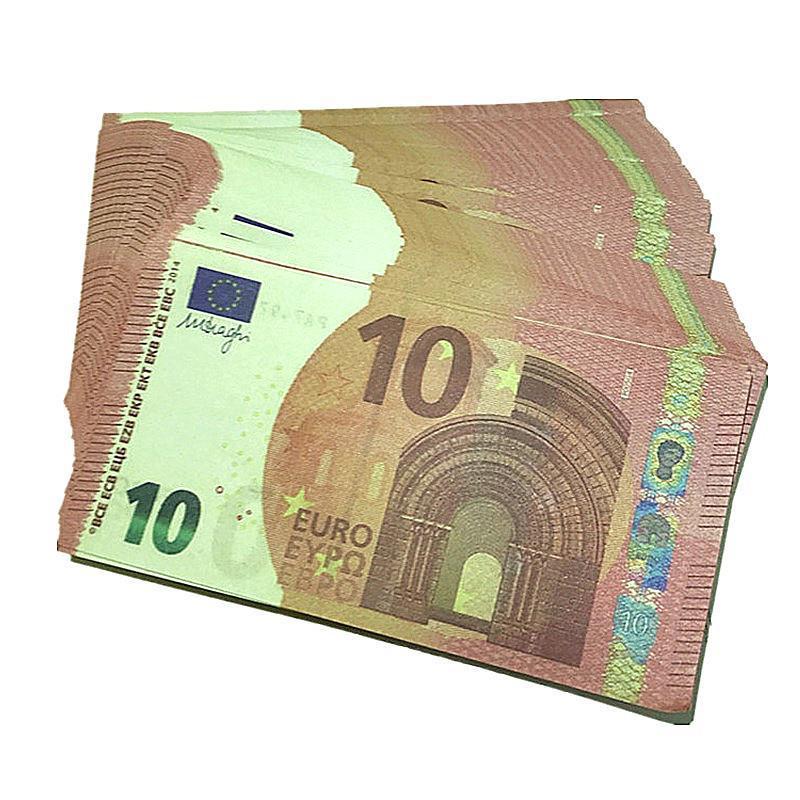 Bar access Movie Magic Show accessoires 100 factures euro jouet fête de devises faux argent cadeaux en gros H3