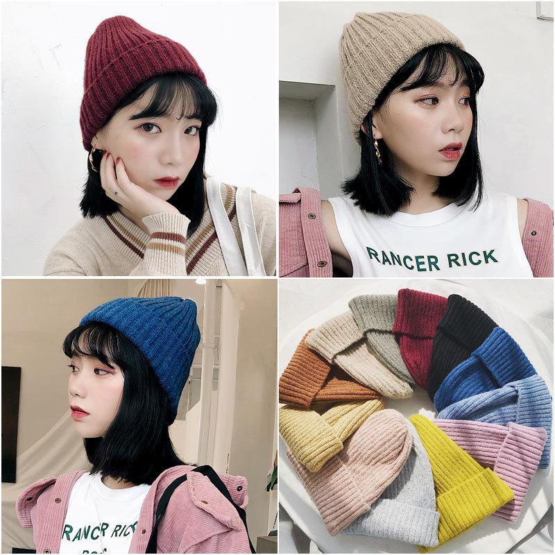 2020 New popular winter knitwear hat for women men fall winter sweater hat for men winter Knitted Hat for men and women