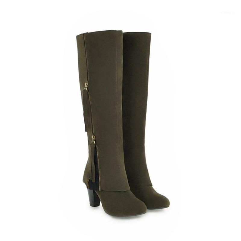 أحذية الشتاء أزياء طويلة بوتاس موهير invierno فوق الركبة أنيقة عالية الكعب 7.5 سنتيمتر مثير الجوارب النساء الأحذية جولة تو 71051
