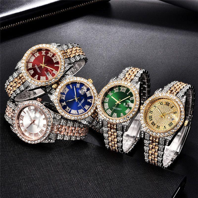 Mouvement de quartz de montre personnalisé pour hommes promotionnels 30 m imperméable en acier inoxydable Montre affaires de luxe 5 couleurs