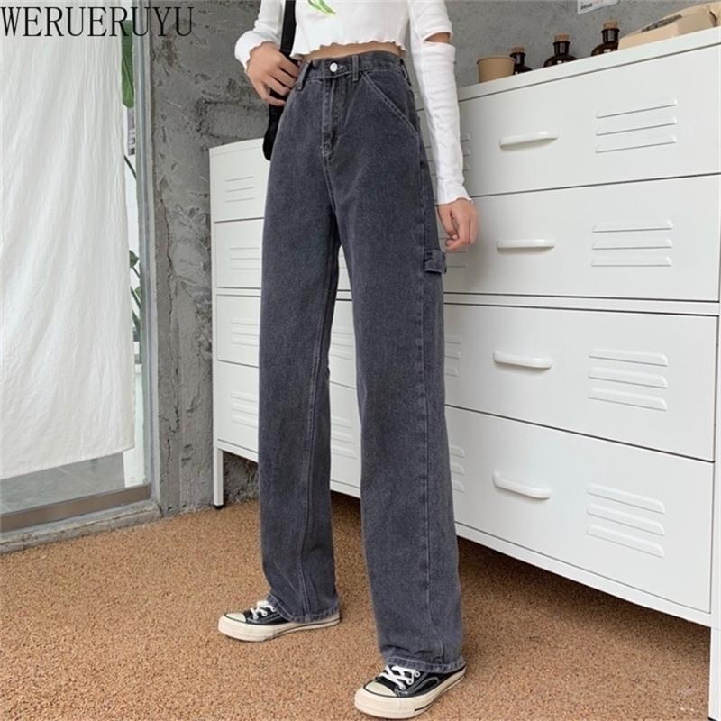 Джинсовые джинсы брюки высокая талия джинсы женские осень тонкий гарем джинсовые брюки узкие джинсы женские черные корейские одежды 210203