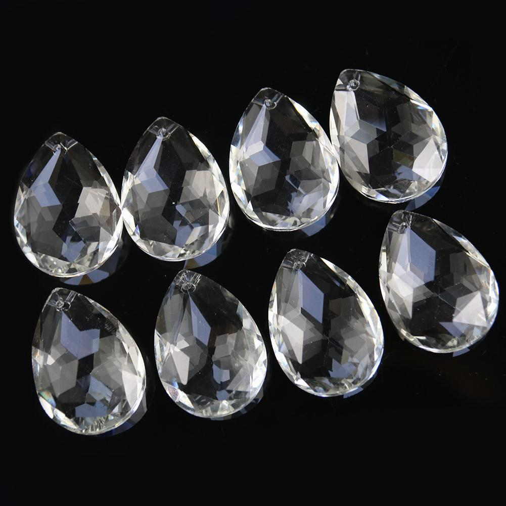 5 pcs 38mm bauhínia prismas de cristal pendurado decorações de cristal peças de candelabro Peças suncatcher claro natal festa de casamento decoração h bbyffg