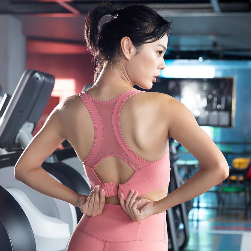 المقاوم الملابس الرياضية أنثى مكافحة التدلي الجري دفع جمال نسخ احتياطي تدريب اللياقة البدنية اليوغا الصدرية البرازيلي التثبيط البرازيلي