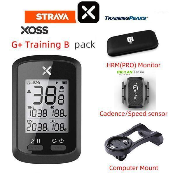 Xoss bike computer G+ wireless gps waterproof speedometer dwireless road bike mtb ant bluetooth cadence cycling computers1