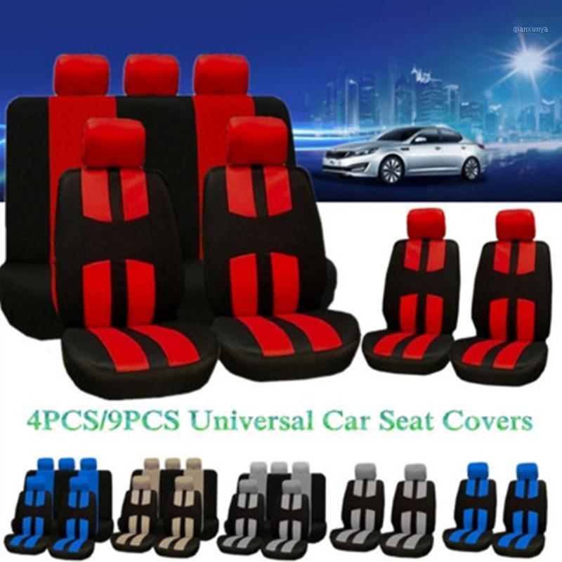4 adet / 9 adet / takım Araba Koltuğu Seti Set Fit Çoğu Arabalar Lastik Parça Kapakları Detay Styling Araba Koltuk Koruyucu İç Aksesuarlar1