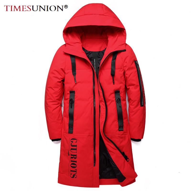Casual 90% White Down Jacket Men Top Quality Thick Winter Business Hooded Warm Parka Coat Waterproof Down Jacket Women 201022