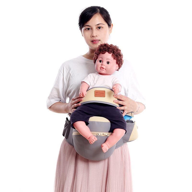 Transporteurs, Slings Sacs à dos Baby-Travail Sling Multifonctionnel Infant Infant Four Seasons Storage Universal Storin Wranden Ceinture Tabouret