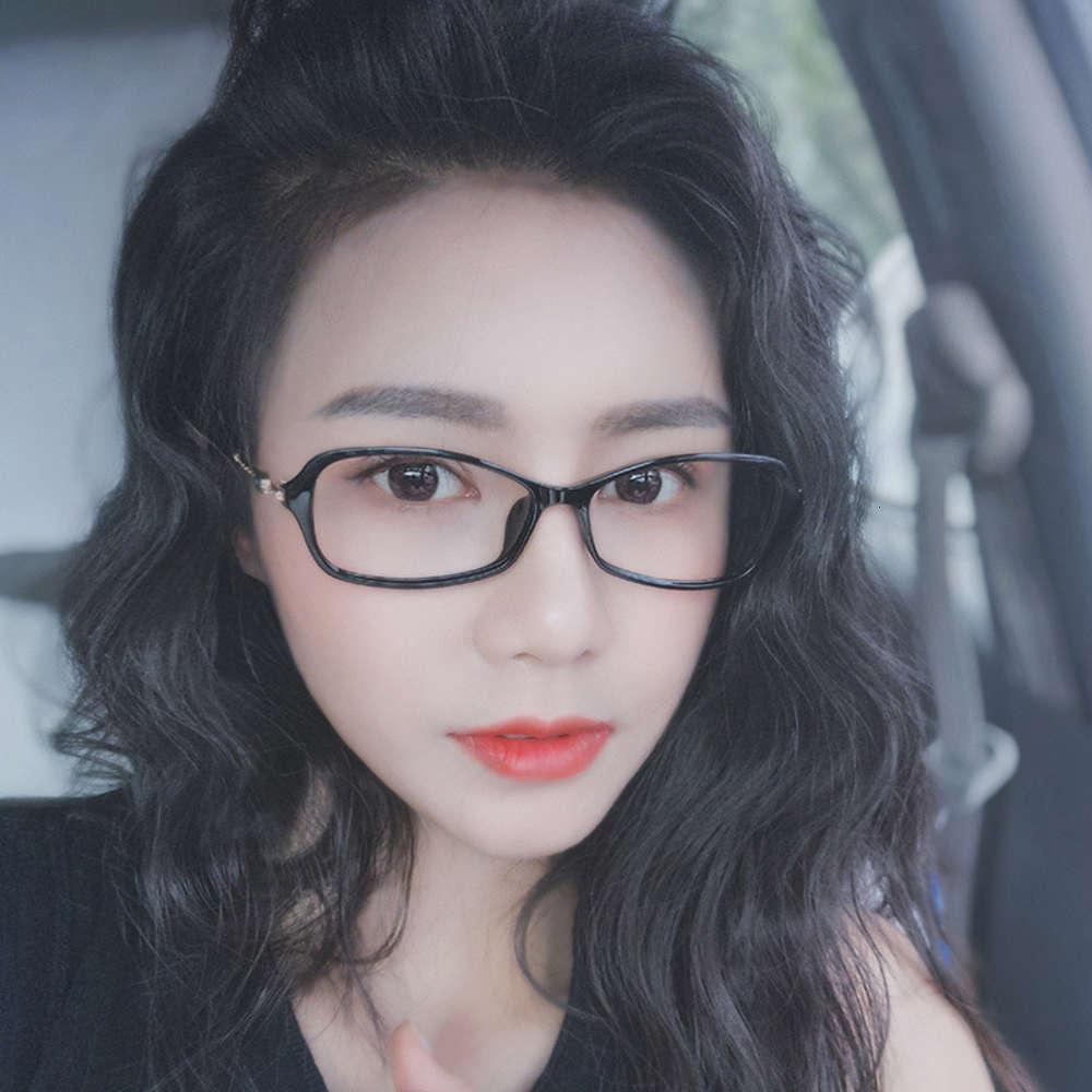 Стеклянные женские бело-воротничники Студенты Корейский круглая близорукость Myopia R Ultra Light, может быть оснащена градусной кадрой кадров, маленькая лицо