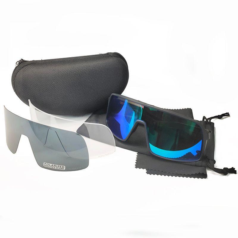 2020 새로운 스타일 자전거 썬은 스포츠 자전거 안경 낚시 안경 야외 스포츠 안경 선글라스 9406 개 남성 사이클링 안경 3PCS 렌즈 안경