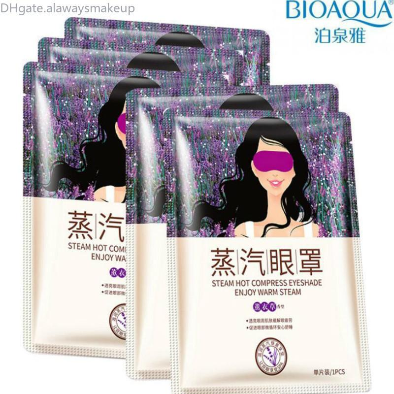 Maschera per gli occhi Lavanda Olio di vapore Viso per la cura della pelle Skin Dark Circle Borse Eye Elimina gli occhi gonfiati Fine Linea rughe anti invecchiamento