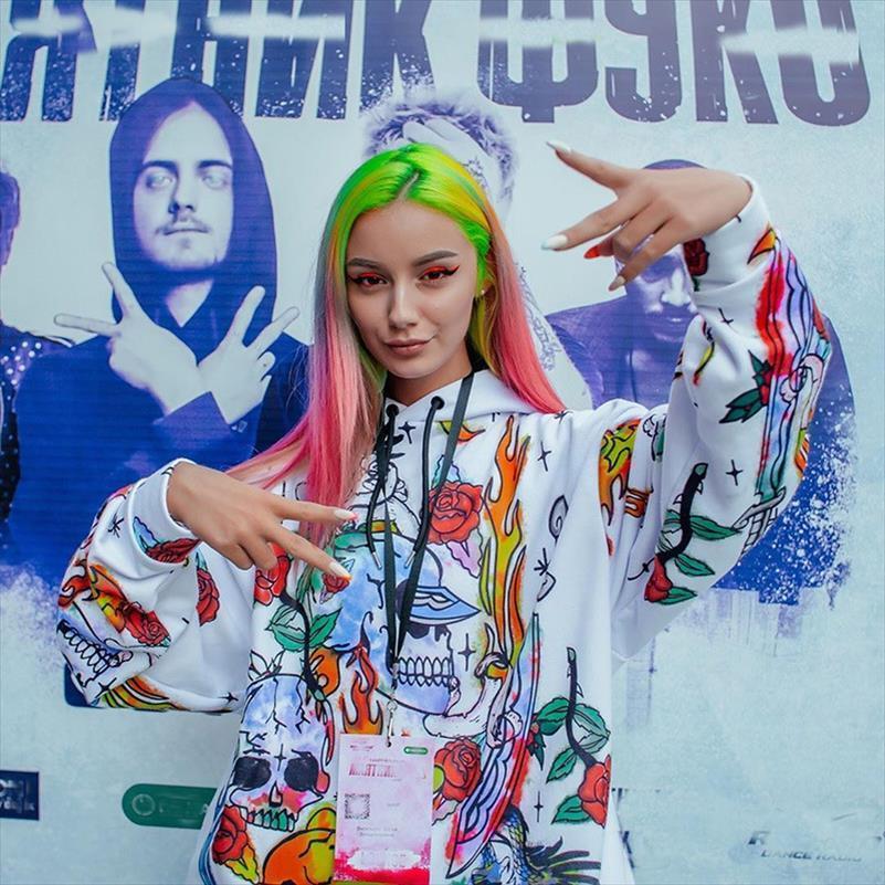 Womens Skull Felpe Moda Streetwear Felpa con Cappuccio Teschi Stampa Hip Hop qualità abiti di alta HH109 Drop Shipping