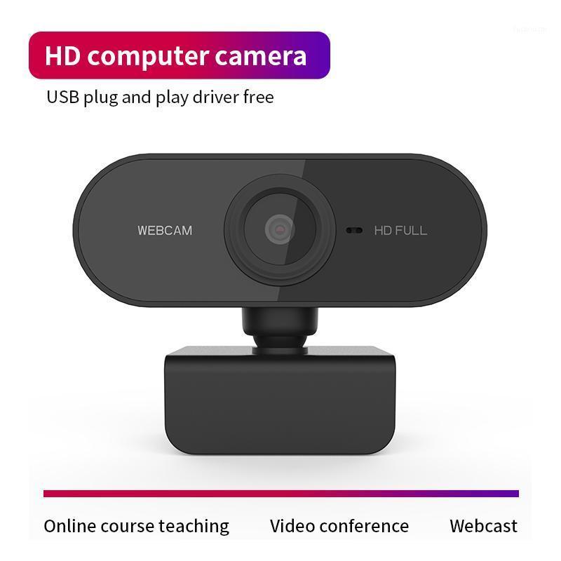 Full HD 1080P Webcam USB Mini Computer Camera Built-in Microphone Flexible Rotatable for Laptops Desktop Webcam Camera1