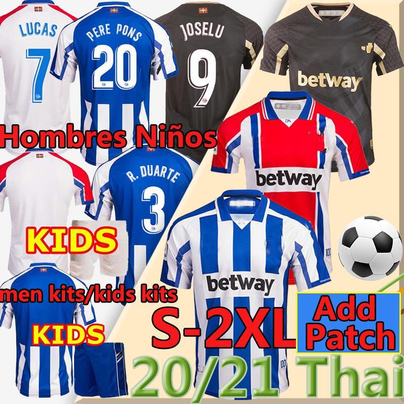 2021 Deportivo Alavés Soccer Jerseys Alaves Laguardia Sobrino Guidetti Camiseta de Fútbol Ibai 11 Burgui 14 Jersey Football Shirts