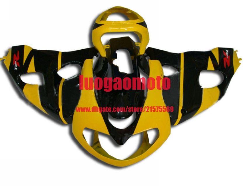 Carénages pour andblack jaune SUZUKI TL1000R TL 1000R 1998-1999 2000 2001 2002 2003 TL1000 98 99 00 01 02 03 kits carrosserie carrosserie