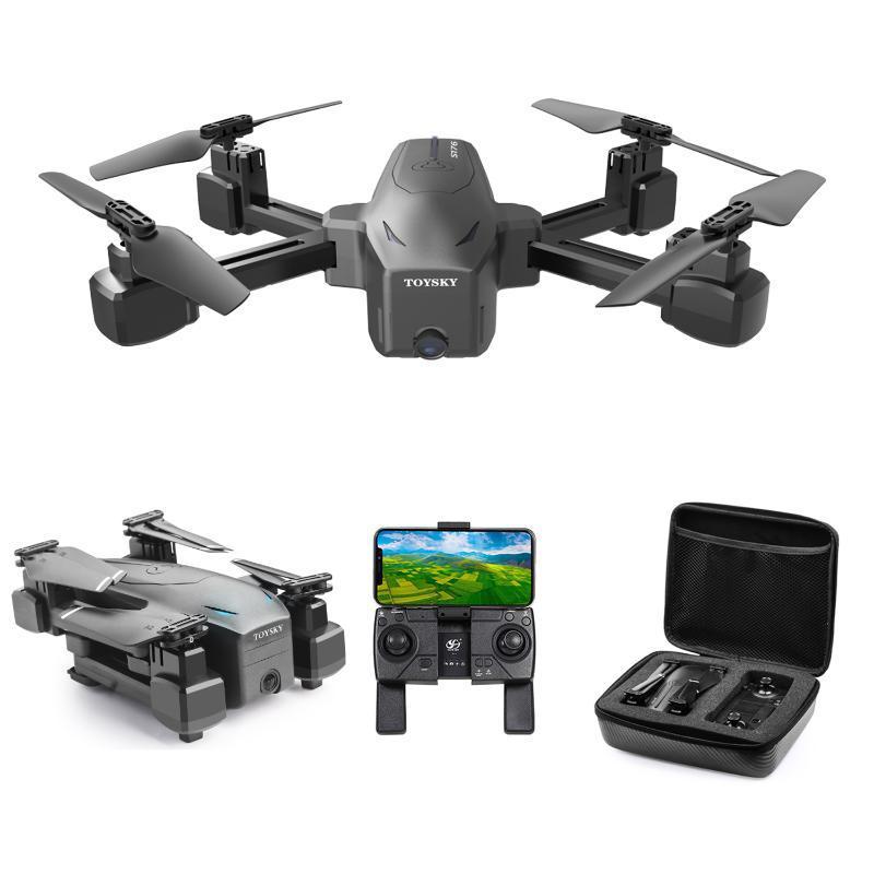 Goolrc csj s176 gps-pro rc drone com câmera 5g wifi 4k drone dual câmera rc gps um gesto de gesto de retorno da tecla Fluxo óptico
