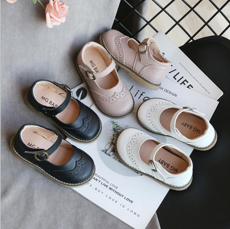 أطفال فتاة أحذية أحدث الربيع الصيف الدانتيل فراشة عقدة بلينغ واحدة الأميرة الجلود الحلو طفل الأطفال الأحذية الجلدية