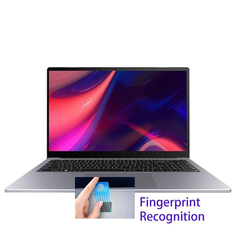 15.6inch jogos laptop 8550U 8th gen 16GB DDR4 RAM 512GB SSD Dedicado Graphics MX250 Fingerprint Metal Notebook