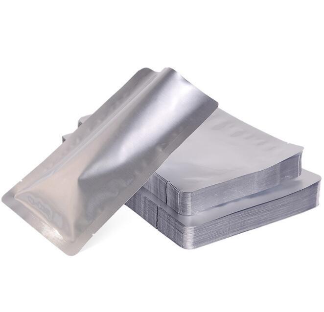 Folha de alumínio cozinhar sacos de embalagem saco de alta temperatura pacote de vácuo resistência Food saco de armazenamento preservação Churrasco lanches bolsa de varejo