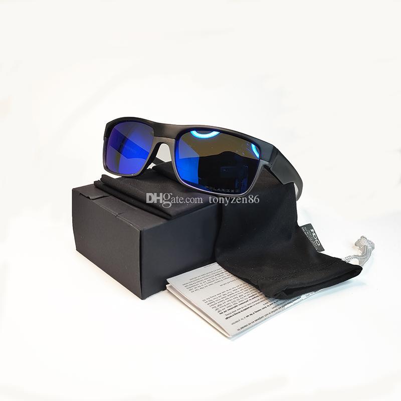 Novos óculos de sol Polaroid Moda homens óculos de sol óculos de sol esportes clássico 7 lente de cor 9189 Óculos de sol
