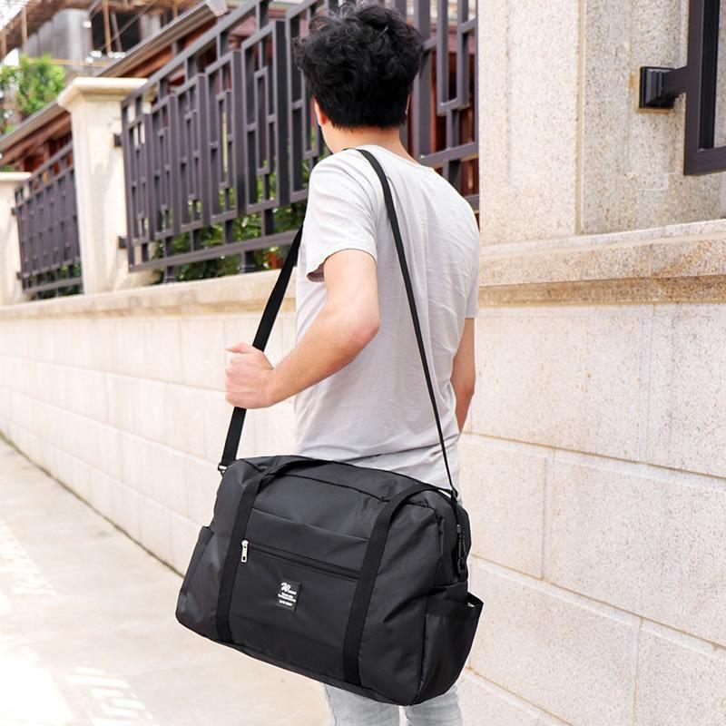 32L grande capacidade de bagagem bolsa de ombro bolsa Oxford Pano de viagem carrinho de bagagem bolsa de mão, bolsas, roupas Bolsa de armazenamento organizador Bags VT0691