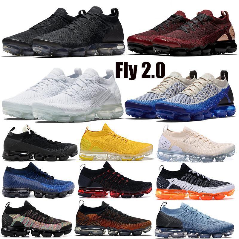 2019 2.0 1.0 Scarpe da corsa da uomo CNY Tiger Team Red Obsidian Triple Nero Bianco Thunder Grey Sneaker da ginnastica di design 36-45