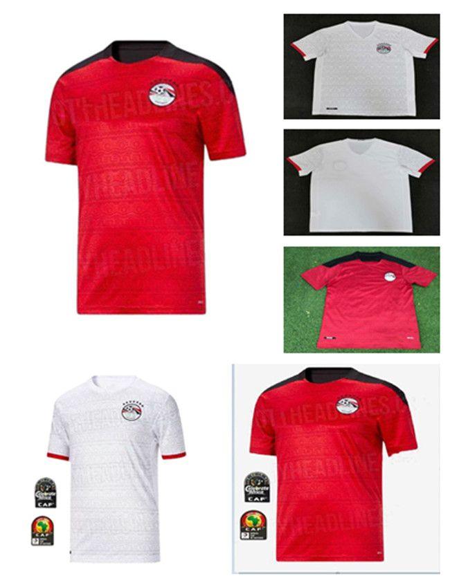 2021 Egitto M. Salah 10 Salah Costa d'Avorio Ghana Marocco Camicia da calcio 20 21 Casa e Away Camicia da calcio da uomo di alta qualità Camicia da calcio di alta qualità
