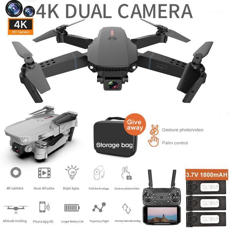 Mini drone com câmera de 4K HD largamente angular wifi drone transmissão em tempo real fpv rc quadcopter dobrável rc helicóptero brinquedos para kid1