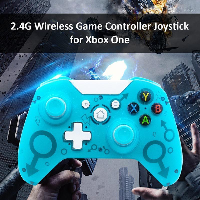 Controladores de jogos Joysticks 1 pc Alta Qulity para o Xbox One Wireless Controller, com adaptador 2.4GHz Gamepad Um / One S / One X / P3 / Windows1