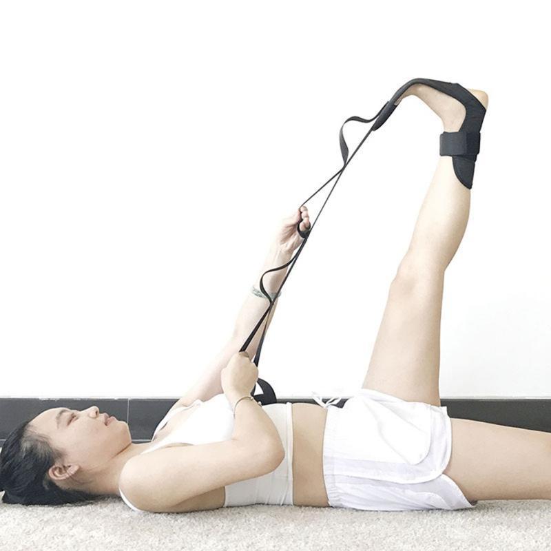 Stretching Gürtel Fuß Rehabilitation Strap Fersensporn Beintraining Fuß Sprunggelenk neues Yoga Ligamentum Korrektur Zahnspange