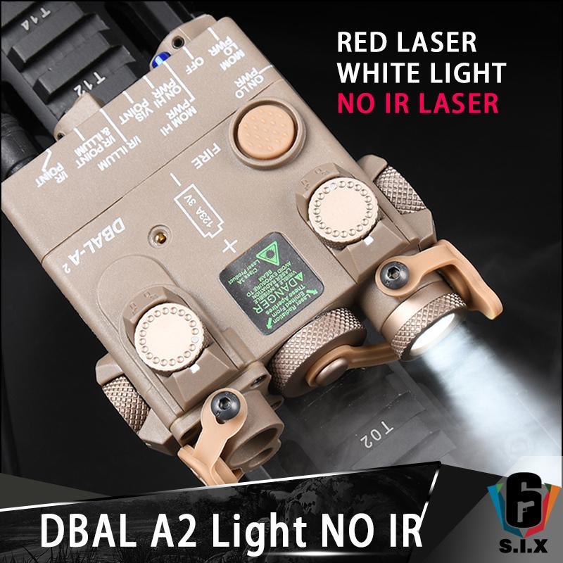 No hay versión láser IR Dbal A2 Mini Red Laser Light Light Strobe Versión Arma Dbal-A2 Linterna Airsoft Laser