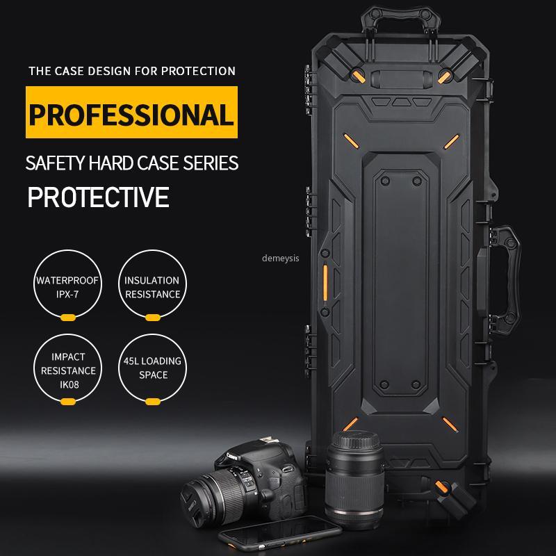 Airsoft Shooting Gun Protector Táctico Combate Paintball Pistola Caja de seguridad Bolsa de caza Maleta de la cámara al aire libre