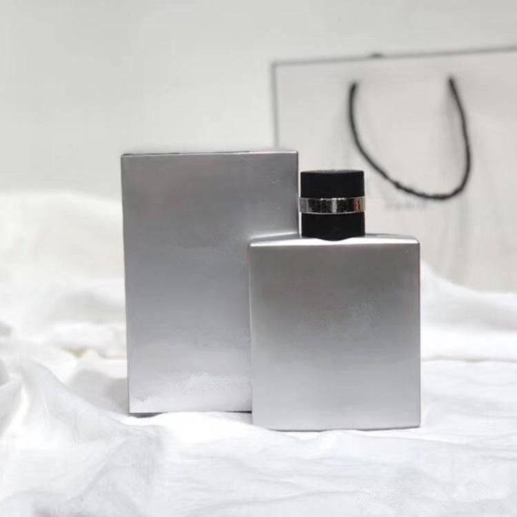 عطور عطر مزيل العرق للرجال الفضة الطازجة الذكور parfum طويل الأمد العطر EDT100ML تسليم سريع