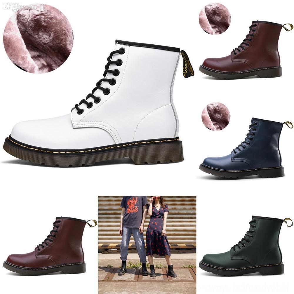 Classicankle bootsWomens bottes en cuir de vache occasionnels avec lacets prix fashionboot bas bottes talon semelle épaisse origine # 8268