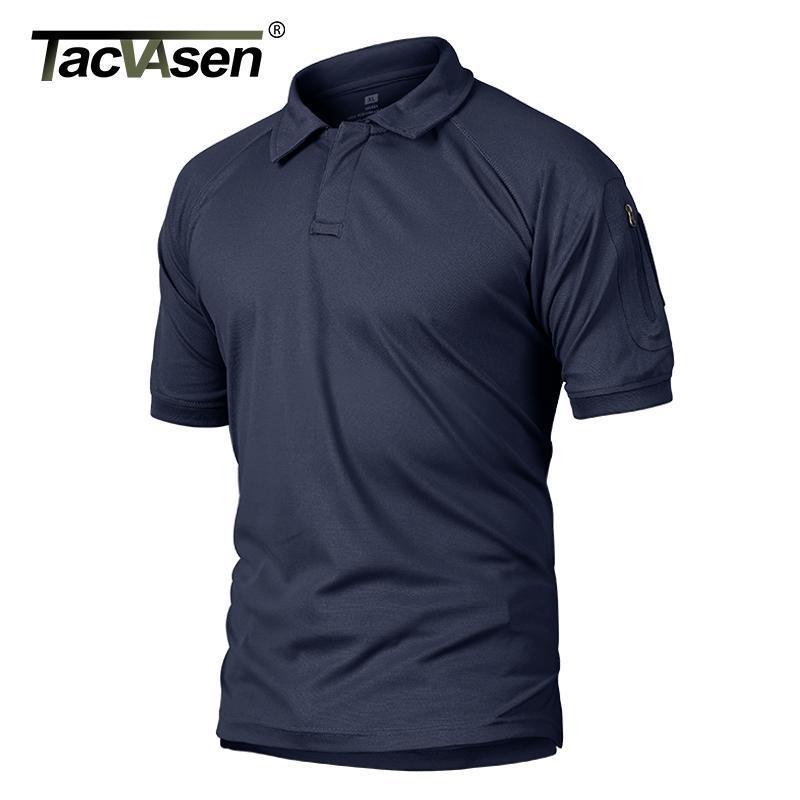 Verão de Tacvasen t - shirts Homens T-shirt tático T-shirt T-shirt Rápido Rápido do desempenho do exército do exército do exército